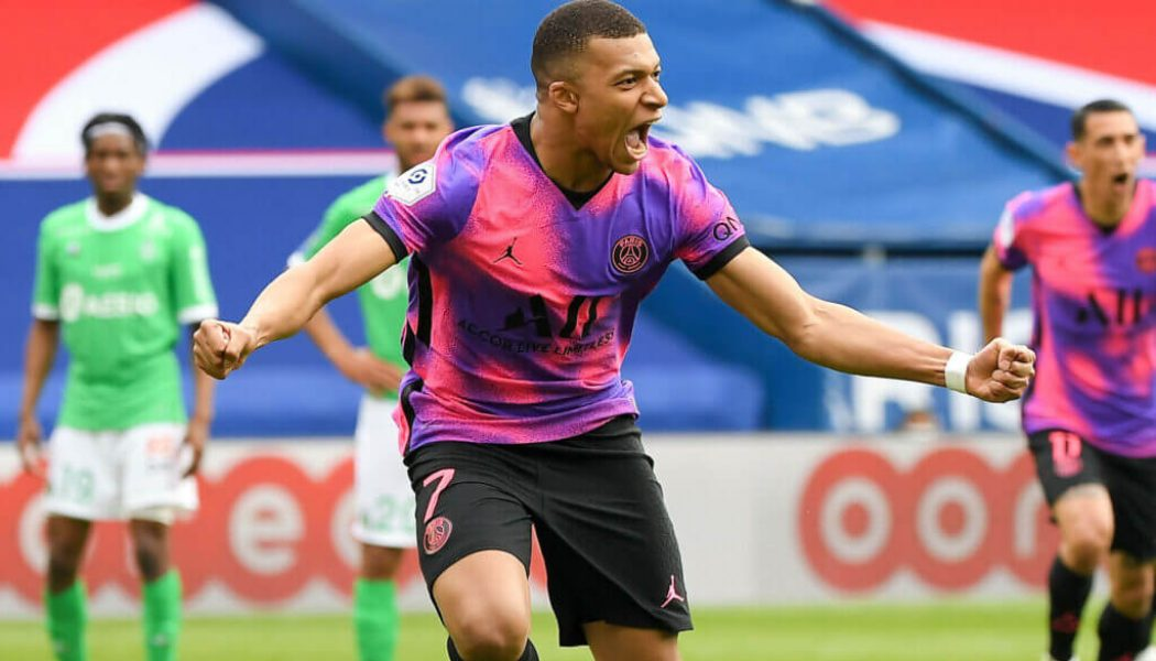 Mbappe at the double to help PSG cut gap on leaders Lille