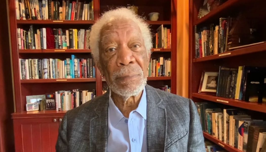 "Morgan Freeman Films COVID-19 Vaccine PSA: ""If You Trust Me, You'll Get the Vaccine"""