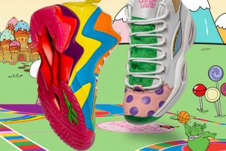 Reebok & Hasbro Team Up For A Sweet 'Candy Land' Collab [Photos]