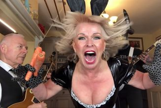 """Robert Fripp and Toyah Celebrate Easter Sunday with Iron Maiden's """"The Number of the Beast"""": Watch"""