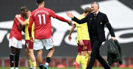 'So happy for him': Ole Gunnar Solskjaer praises £75,000-a-week star after Burnley win