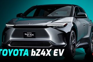 Toyota bZ4X Concept First Look: Finally Kicking Off Toyota's Electric Future