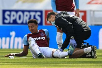 West Ham boss allays fears of serious Jesse Lingard injury after substitution