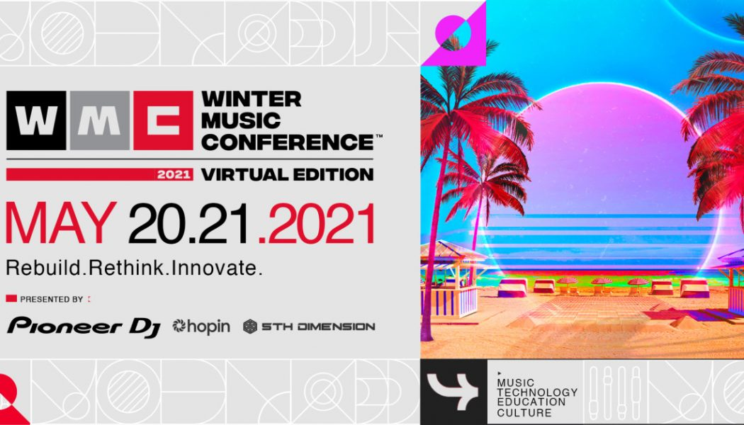 Winter Music Conference Organizers Announce Dates and Schedule of First-Ever Virtual Edition