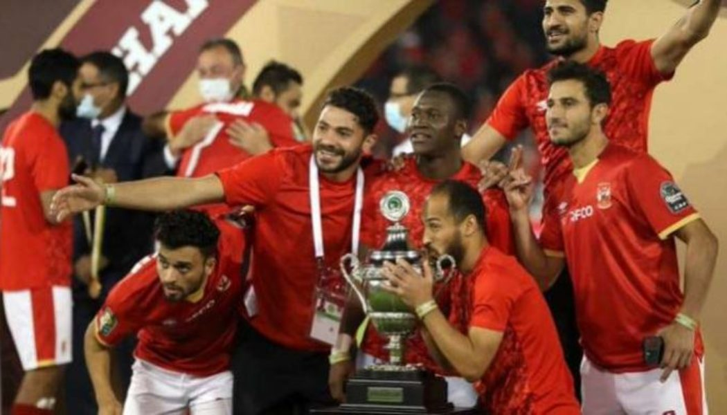 Ahly defeat Berkane in Super Cup to claim 21st African title