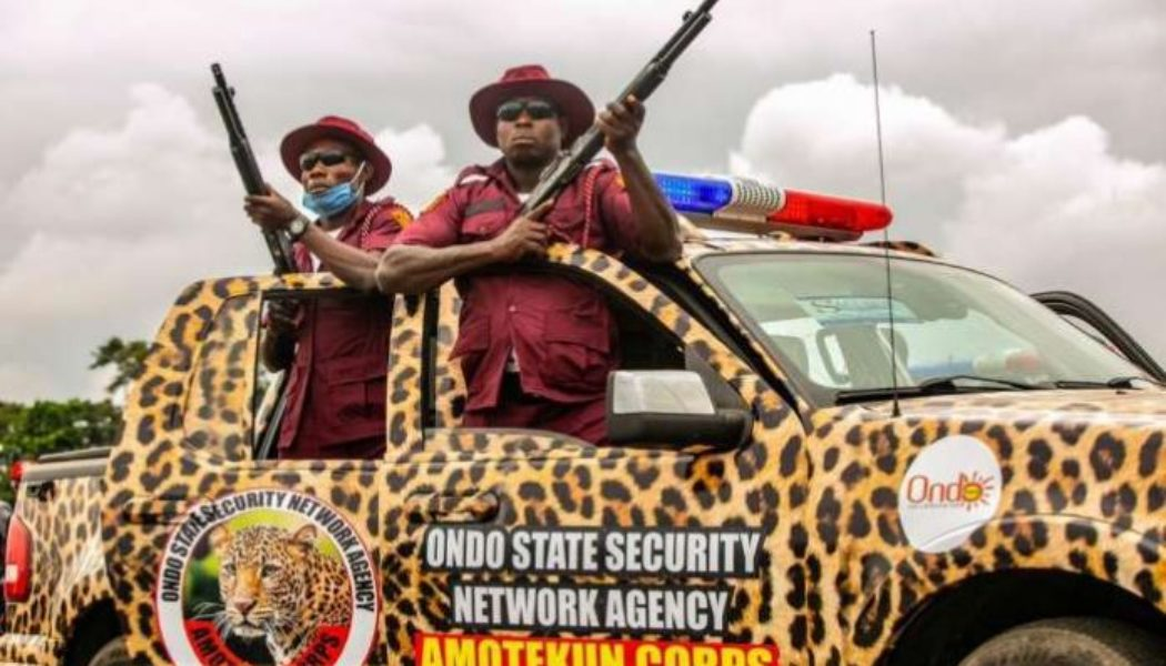 Amotekun evicts another 137 northerners from Ondo forest