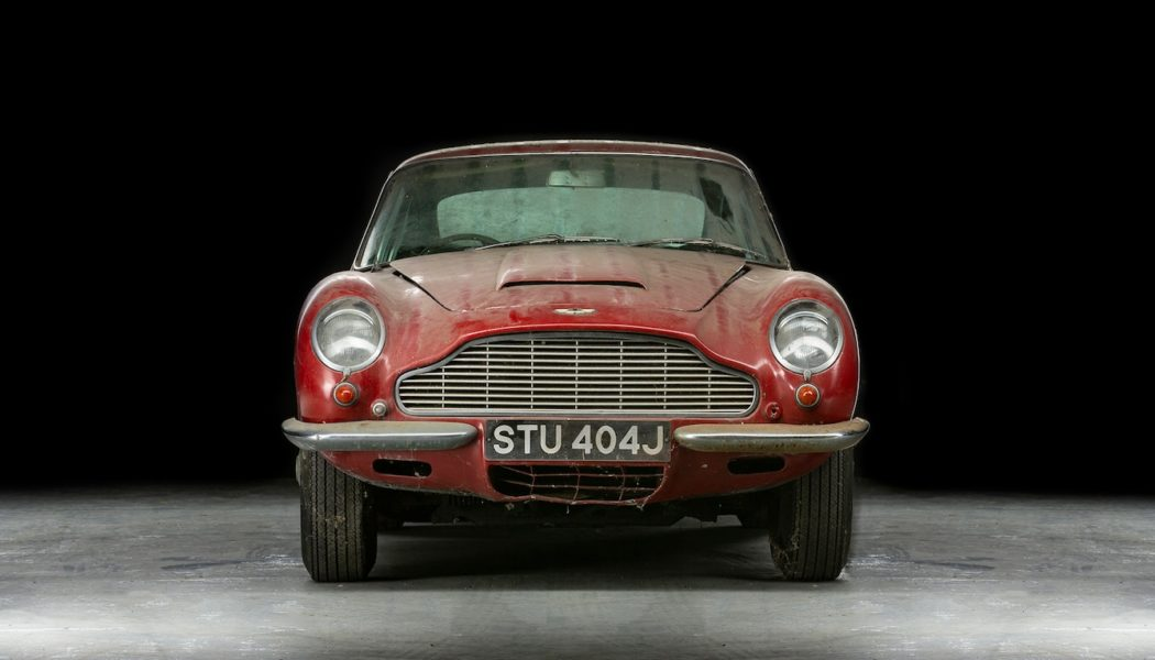 Aston Martin DB6 Sells for Over $250K After Collecting Dust for 30 Years