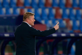 Barcelona contact Tottenham's reported manager target about replacing Koeman