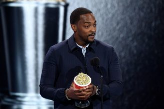 'Blood, Sweat, And Tears' Made Anthony Mackie Best Hero At Movie & TV Awards