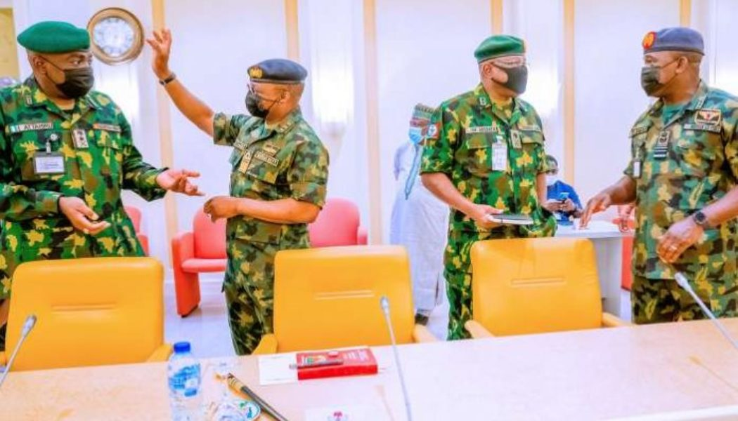CDS, service chiefs to appear before Senate over insecurity
