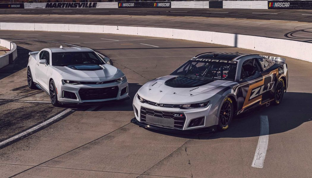 Chevrolet Camaro ZL1 Next Gen NASCAR Racer Takes on More Realism