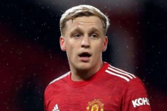 Donny van de Beek accused of making Manchester United move with 'big boy' attitude