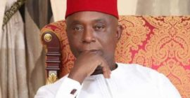 Lady accuses Ned Nwoko of unjustly detaining her dad, uncles