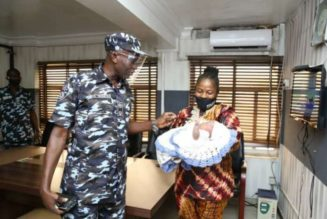 Lagos: Police rescue another abandoned one-month-old baby