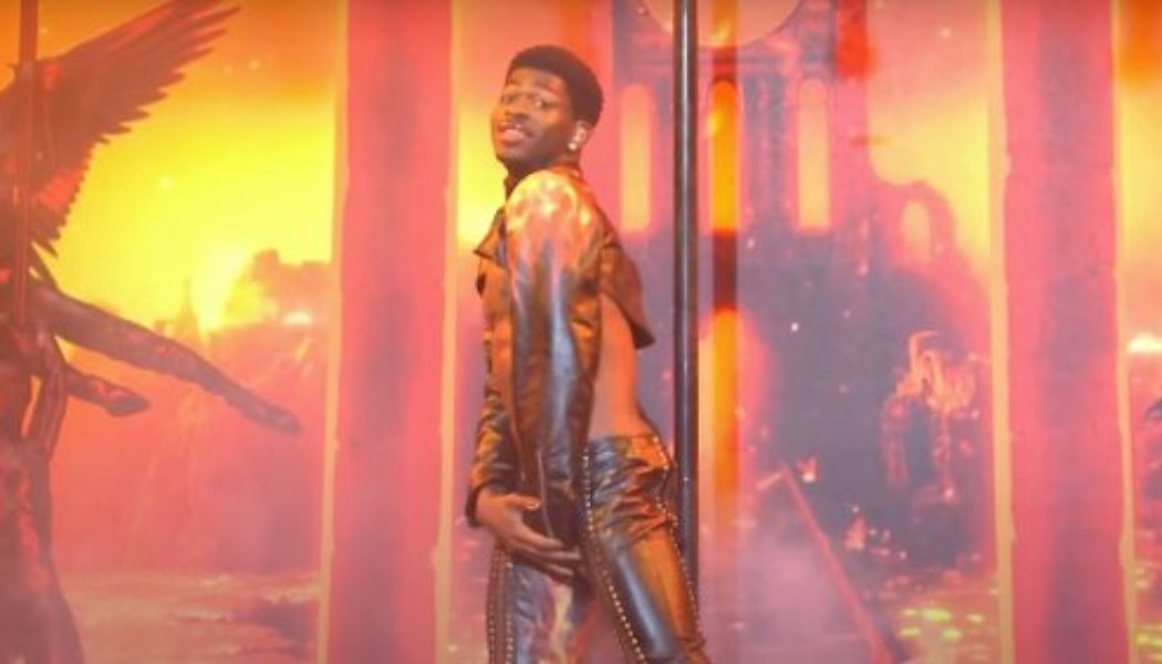 Lil Nas X Perseveres Past Wardrobe Malfunction for Memorable SNL Debut: Watch