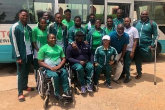 Minister charges para-athletics team to be worthy ambassadors