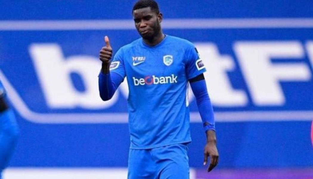 Paul Onuachu nominated for Belgian Player of the Year Award