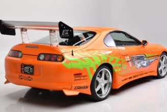 """Paul Walker's """"Fast and Furious"""" Toyota Supra Is Up For Sale"""