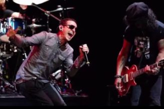 """Previously Unreleased Slash Song """"Crazy"""" Featuring the Late Chester Bennington Has Been Unearthed: Stream"""