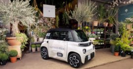 The Citroën My Ami Cargo Is a Very Weird—and Very French—Delivery Vehicle