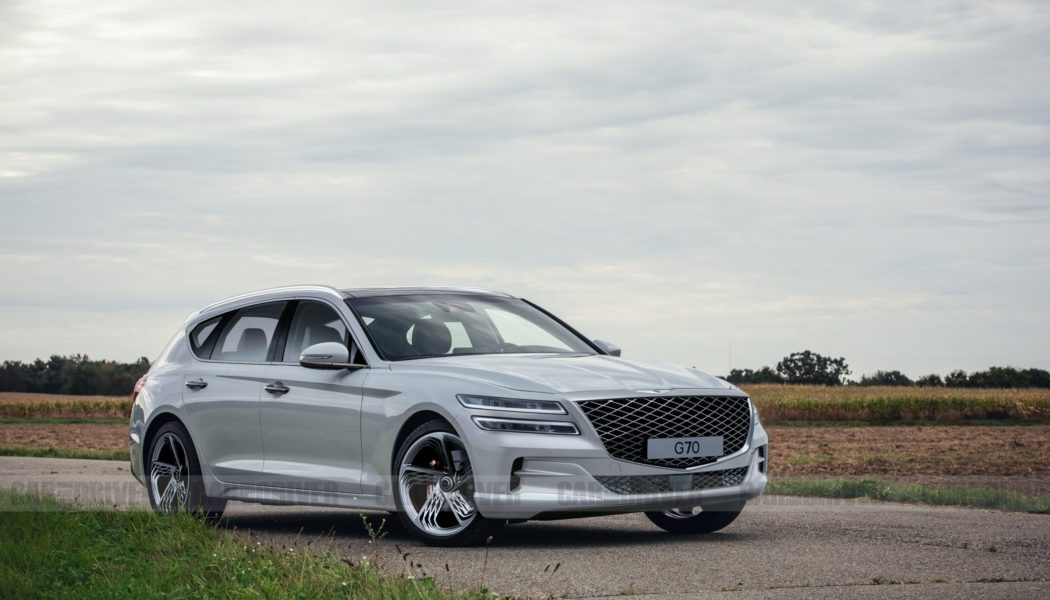 The Genesis G70 Wagon Will Shooting Brake Your Heart