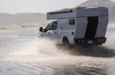 The Rossmӧnster Overland Baja Truck Camper Replaces the Pickup Bed Entirely