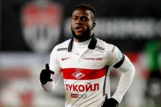 Victor Moses named Player of Month in Russia