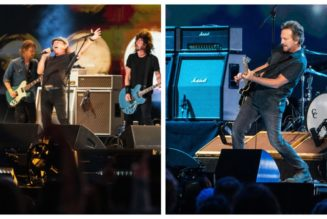 Watch Eddie Vedder Play With Josh Klinghoffer and Foo Fighters Perform With AC/DC's Brian Johnson at Global Citizen's VAX Live Event