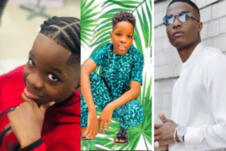Wizkid's Son Boluwatife Gears Up For 10th Birthday, Shares Throwback Photo