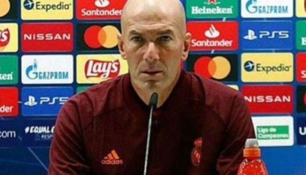 Zinedine Zidane leaves Real Madrid for second time in three years