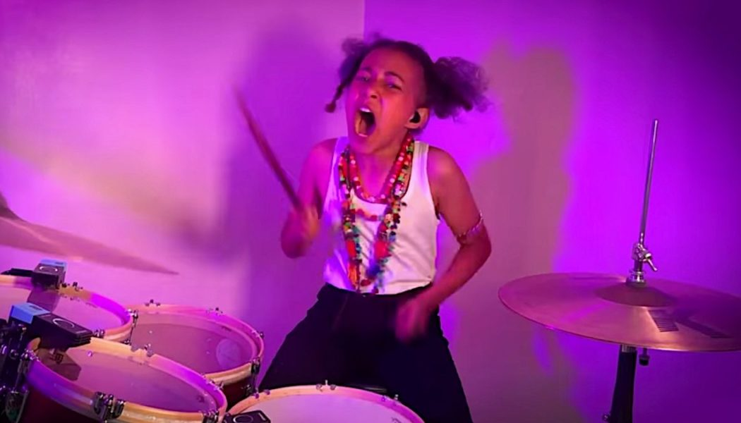 """11-Year-Old Nandi Bushell Wows Linkin Park with """"Awesome"""" Drum Cover of """"Numb"""": Watch"""