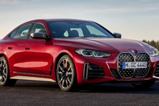 2022 BMW 4 Series Gran Coupe First Look: A Gran Grille for the Gran Coupe