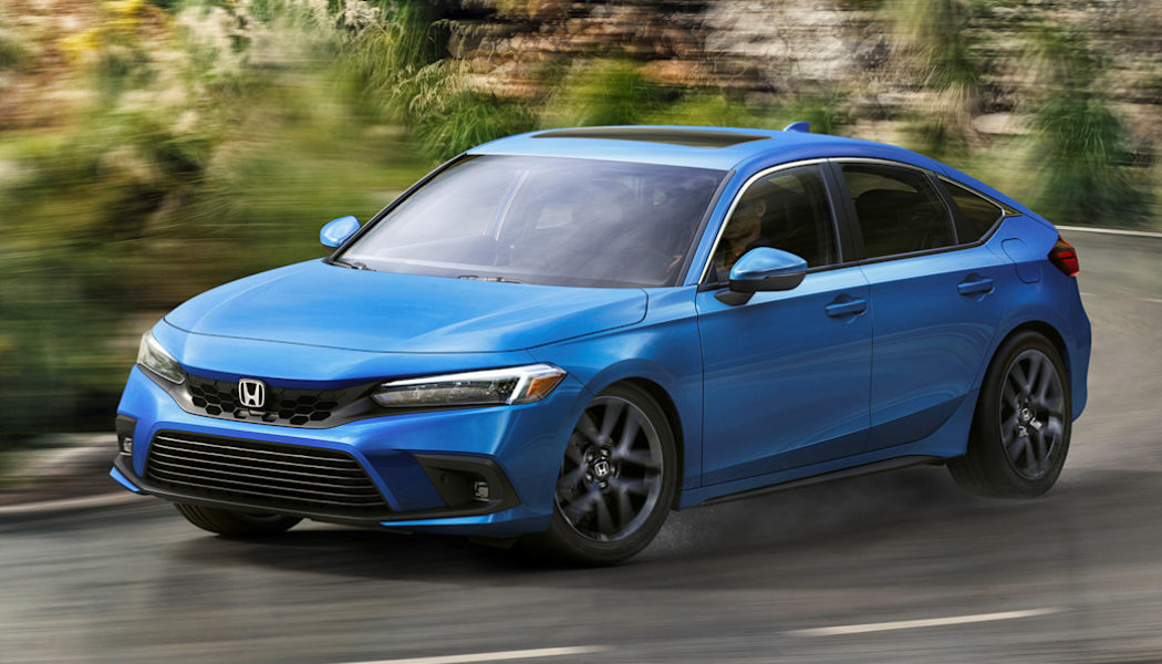 2022 Honda Civic Hatchback First Look: Spoilers Are Out, Smooth Lines Are In
