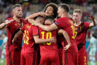 Belgium send defending champion Portugal out of Euro 2020