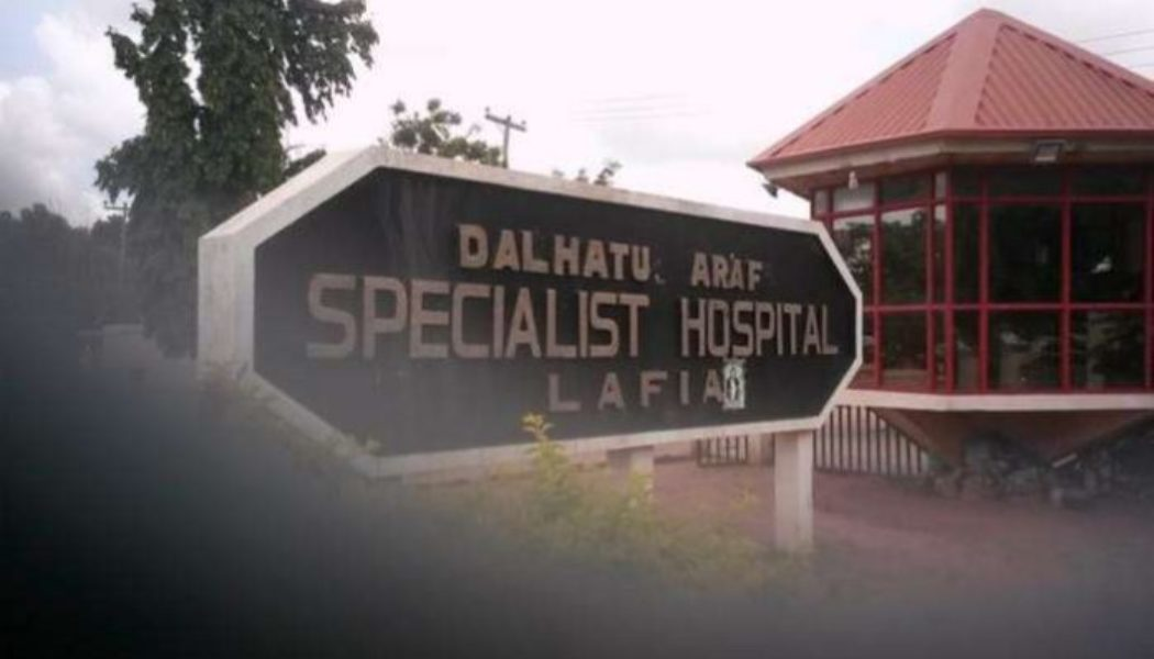 CMD: Lafia specialist hospital meets requirements for teaching hospital