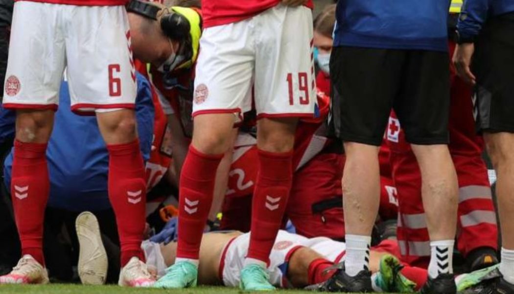 Danish director: Christian Eriksen spoke to Denmark players after on-field collapse