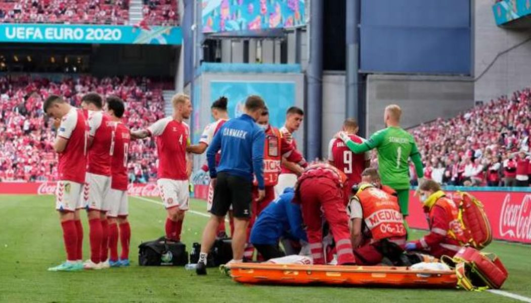 Danish players criticise decision to resume game after Christian Eriksen collapse