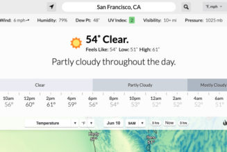 Dark Sky's iOS app and website will shut down at the end of 2022