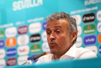 Euro 2020: Spain boss rues missed chances but defends game plan