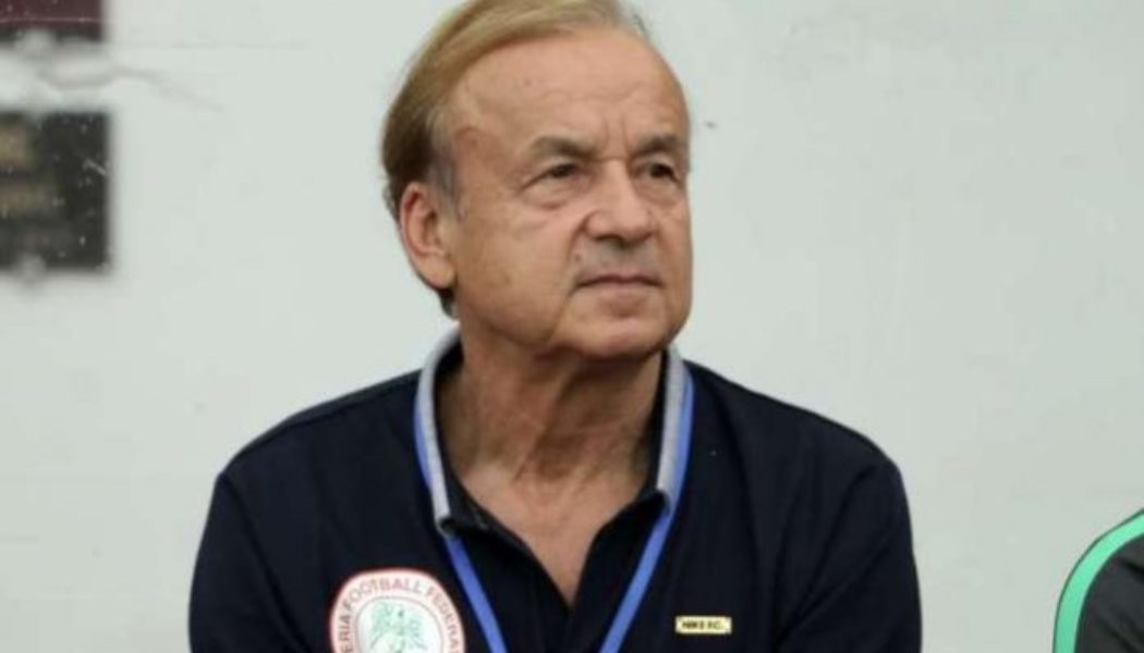 Gernot Rohr: Super Eagles will be ready for 2022 World Cup qualifiers