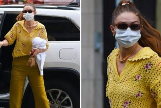 Gigi Hadid Just Wore the Loveliest £36 Mango Top, and It's Still Available