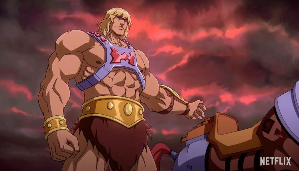 He-Man's Abs Have the Power in First Trailer for Kevin Smith's Masters of the Universe: Revelation: Watch