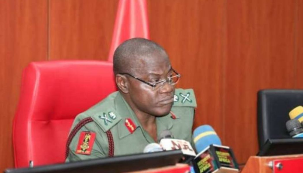 Imo: Army chief asks troops to redouble effort in fighting IPOB