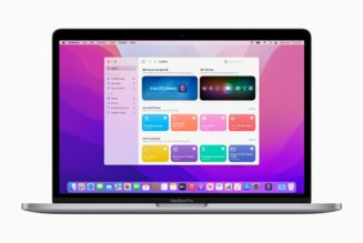 macOS Monterey lets you run Shortcuts and share files between Macs and iPads