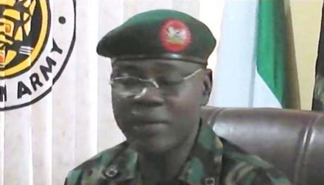 Nigerian army chief charges troops to be decisive against terrorists
