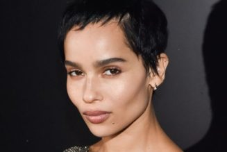Only Zoë Kravitz Could Make a Basic Vest Top Look This Cool
