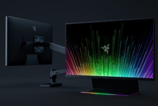 Razer's updated Raptor 27 is a faster 165Hz monitor, now with optional VESA