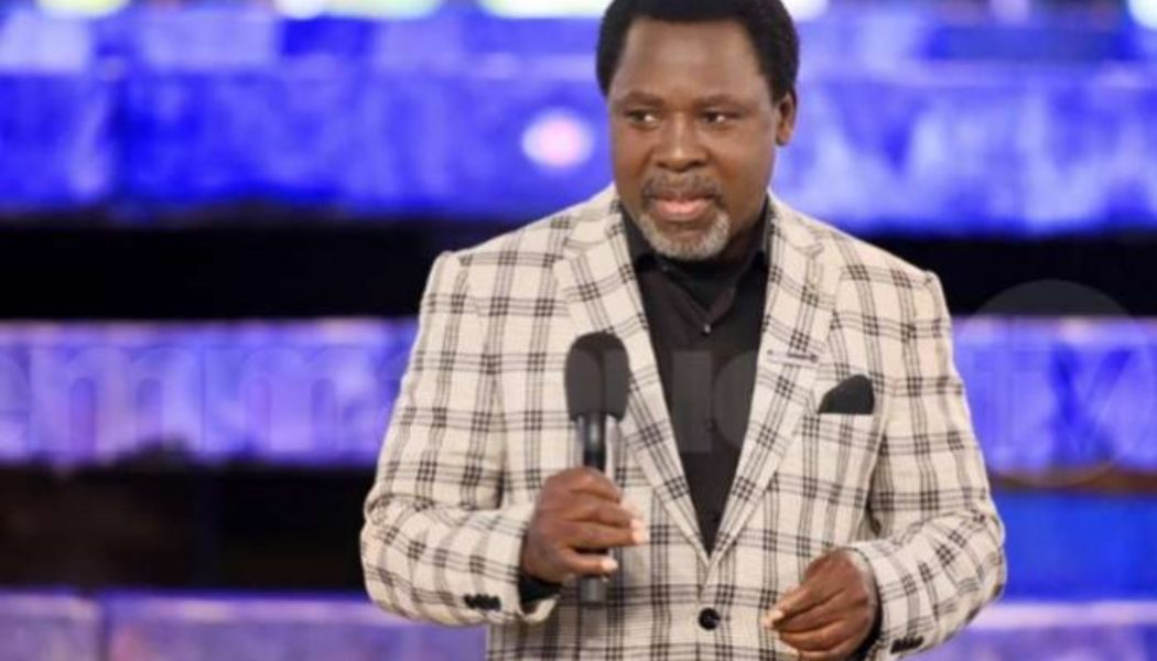 TB Joshua: Let us dedicate June 12th to prayer and fasting