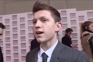 Video of a Young Tom Holland Dreaming About Being Spider-Man Goes Viral: Watch
