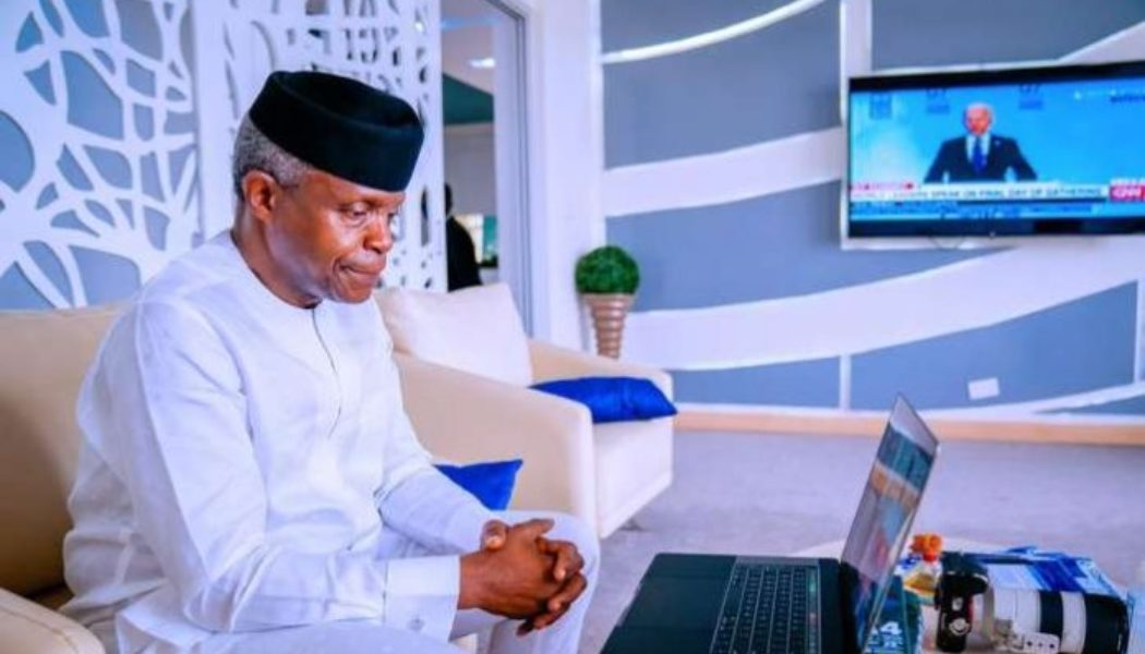 VP Osinbajo: Let's focus on empowering our compatriots living with albinism